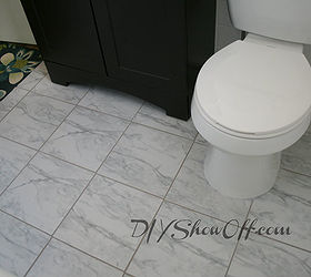 Tiled Bathroom Floor Apartment Renovation, Bathroom Ideas, Flooring, Tile  Flooring, Tiling,