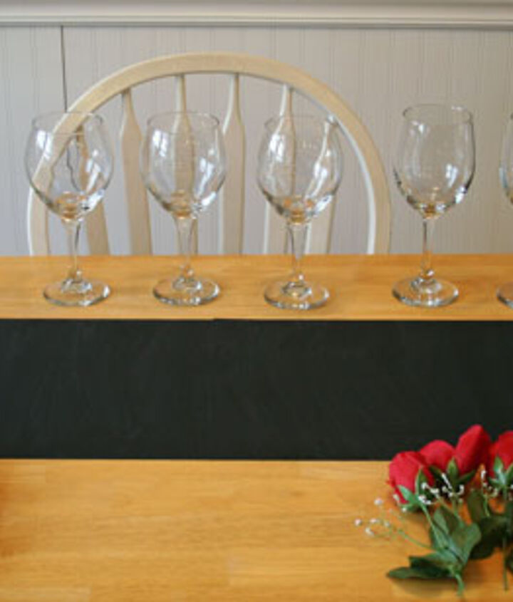 Gather wine glasses, cupcakes, roses (fake or real).