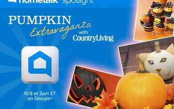 amazing pumpkin decorating ideas from country living live, crafts, seasonal holiday decor, Click here to watch live Tuesday at 2p m EST