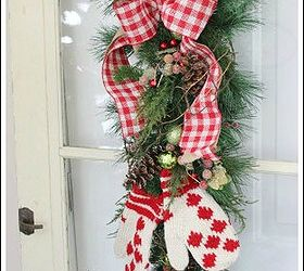 Beau Christmas Door Decoration, Christmas Decorations, Crafts, Doors, Seasonal  Holiday Decor, I