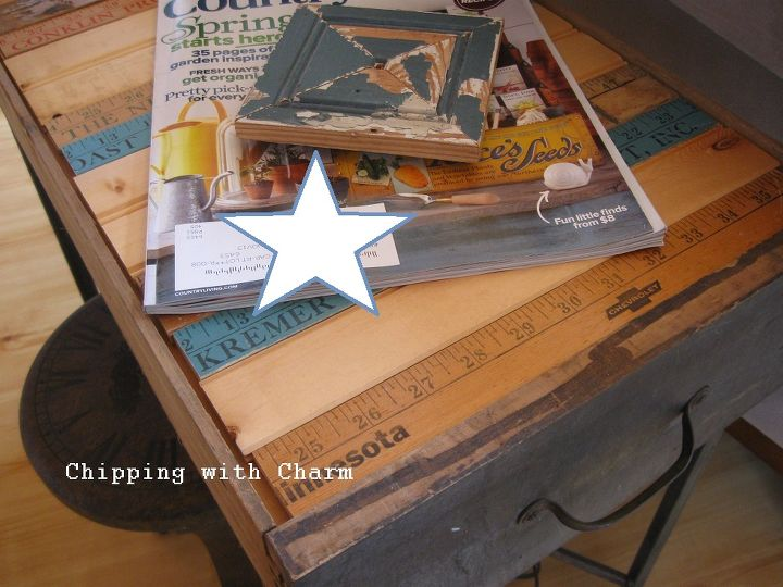 from old drawer to end table, painted furniture, repurposing upcycling