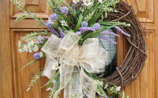 easy diy summer wreath, crafts, home decor, wreaths, Easy DIY Summer Wreath