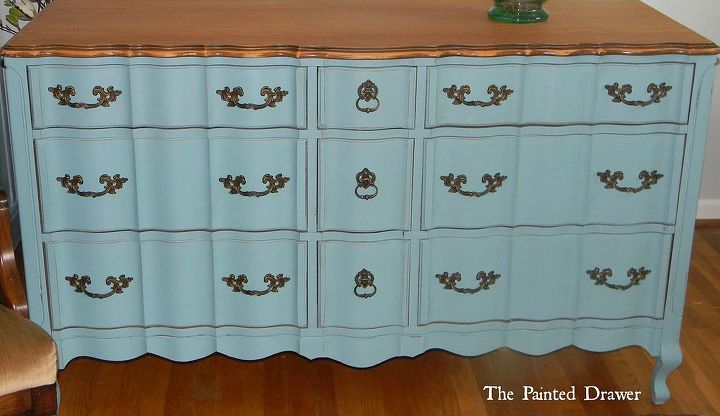 choosing a color to create your style, painted furniture