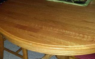 beautiful oak table, painted furniture