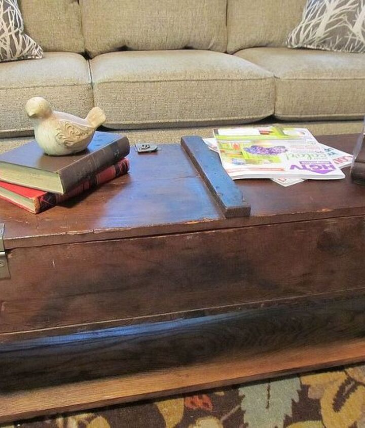 voila!  chic/rustic coffee table!