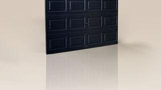 q should i paint my garage doors black, doors, garage doors, garages, painting, Clopay Classic Premium Series insulated steel garage door in high gloss black with decorative windows