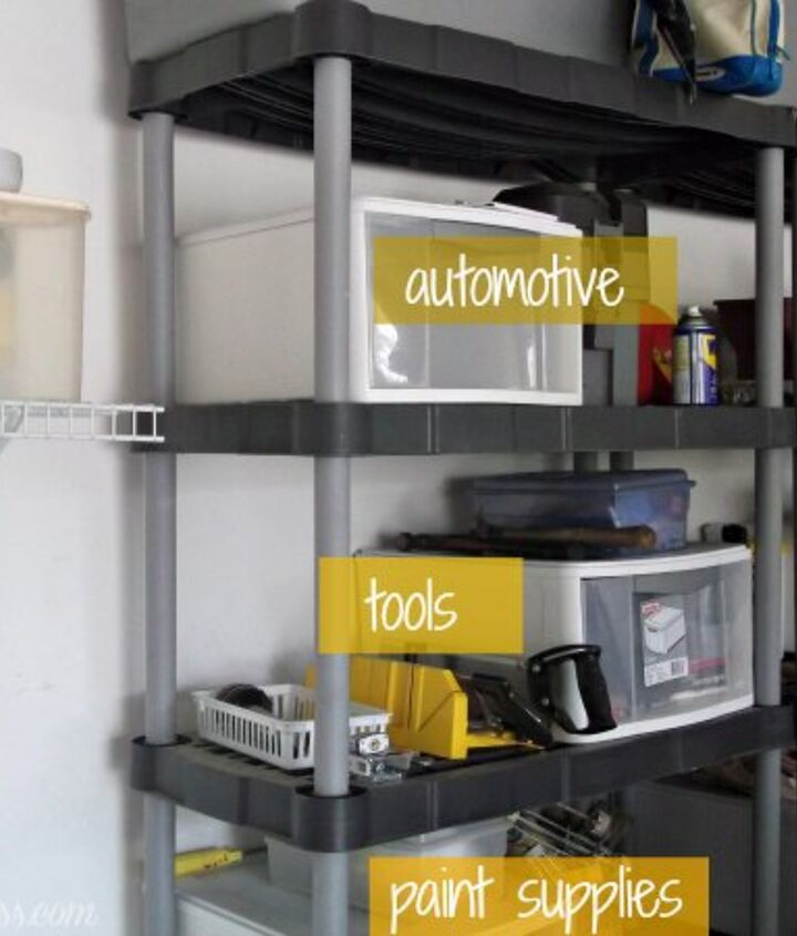 a garage makeover, cleaning tips, garages, organizing, to this
