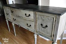 buffet of gorgeous grays, painted furniture