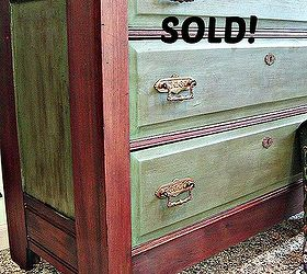 Good Transforming Vintage Furniture That Is Both Stained And Painted, Chalk  Paint, Painted Furniture,
