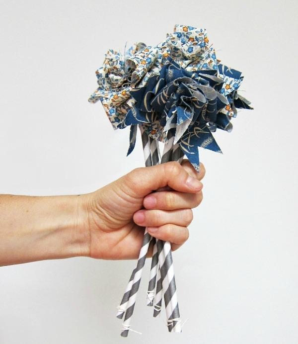 DIY Fabric Flower Bouquet | Hometalk