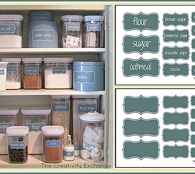 Attrayant Create An Organized Baking Cabinet With Free Printable Labels, Organizing,  Free Printable Labels To