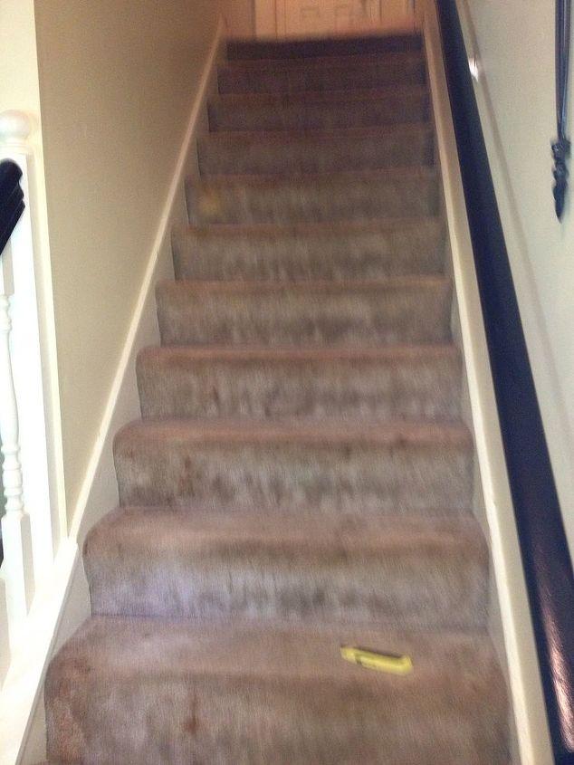 Old dirty carpet.