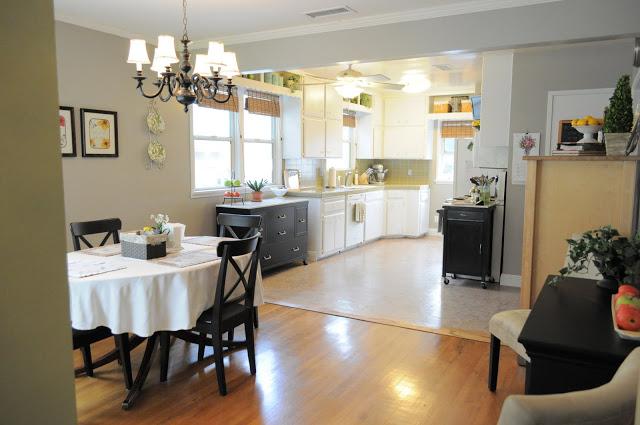 Kitchen front view