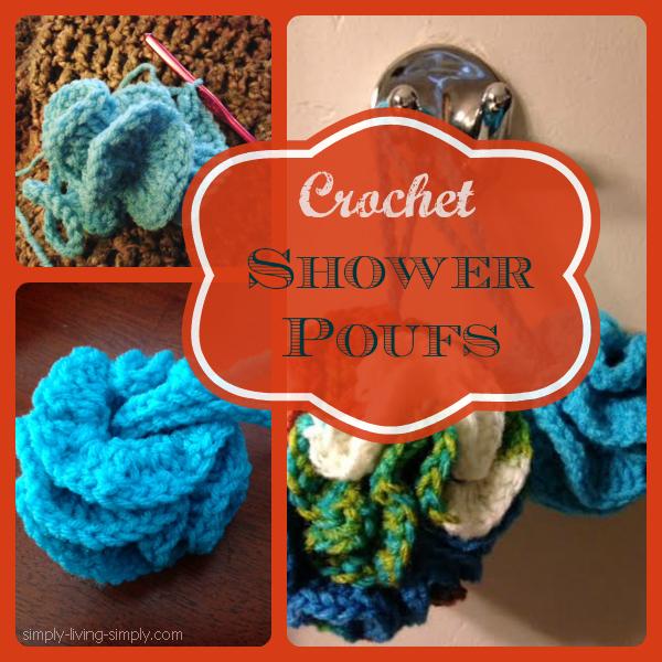 Diy Crocheted Shower Puff Hometalk
