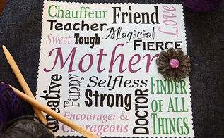 mother s day tote with free printable art, crafts