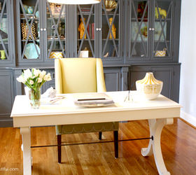 A Stylish Home Office Hometalk