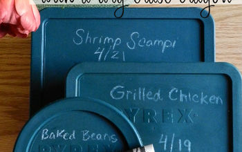 the most awesome leftover labeling tip, kitchen design, organizing, Label your leftovers with dry erase crayons