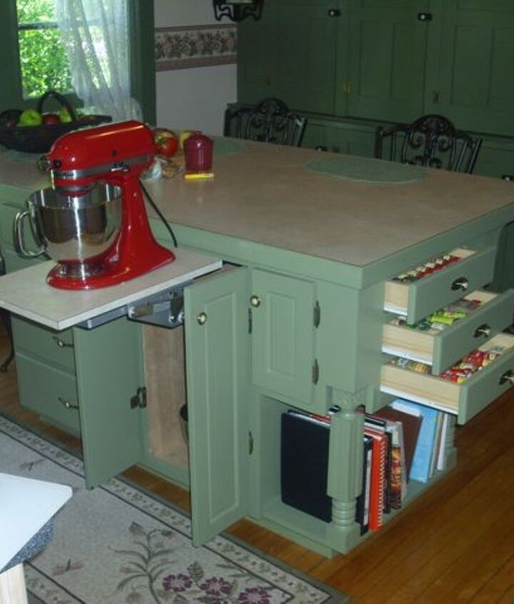 Mixer lift and spice drawers!