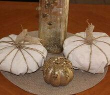 plastic bag pumpkin, crafts, seasonal holiday decor