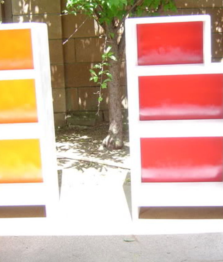 Here's the AFTER......Great for the kids room, nice and colorful!