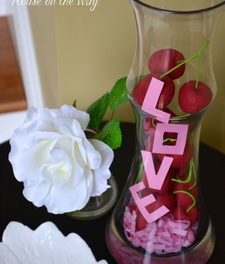 valentine s day bowl full of cherries, seasonal holiday d cor, valentines day ideas