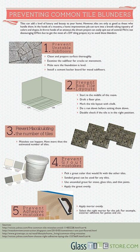 4 Things You Need to Know to Prevent Tile Installation