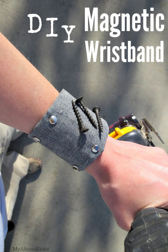 diy magnetic wristband my altered state, crafts, tools, woodworking projects