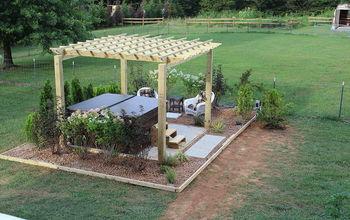 nadine's back yard oasis completed