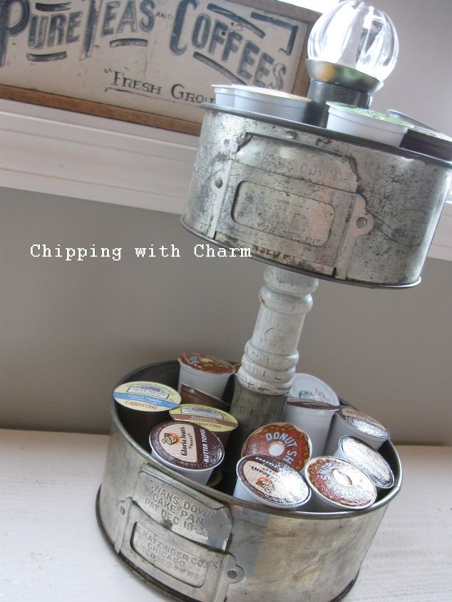 a fun way to store all those k cups, cleaning tips, kitchen design, organizing, repurposing upcycling, My K cup holder