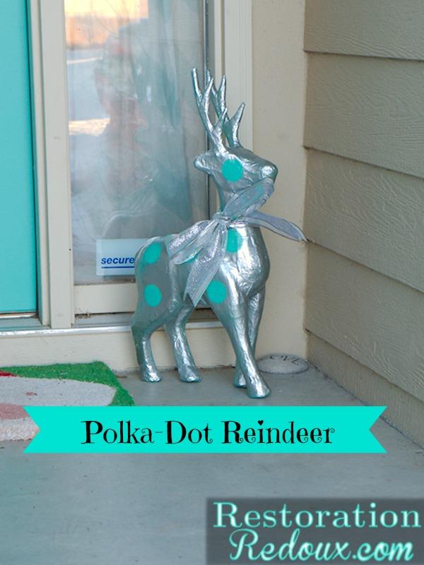 Polka-Dot Reindeer After