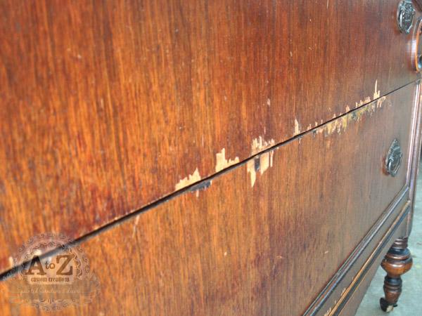 Repairing Filling Missing Or Damaged Veneer Hometalk