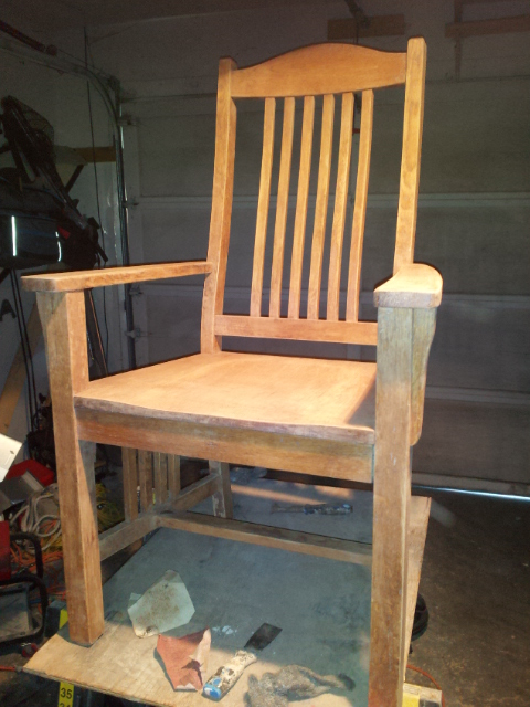 Refinishing Chairs To Match That New Cool Dark Pottery Barn Table Painted Furniture