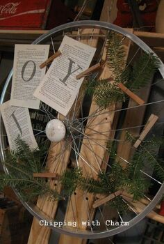 a bike rim wreath, crafts, doors, repurposing upcycling, wreaths