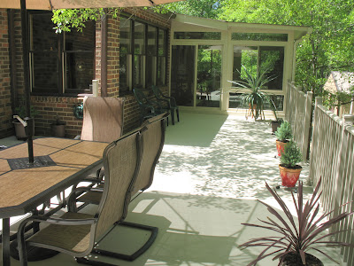 q has anyone worked with aluminum on a deck check out these great pics of a beautiful, curb appeal, decks, outdoor living, porches