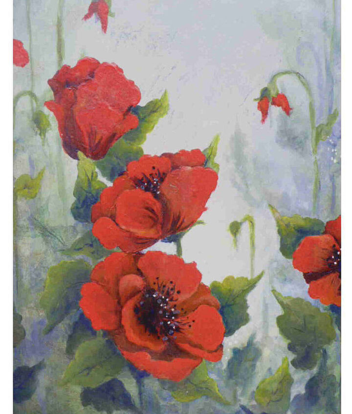 I'm into poppies right now.