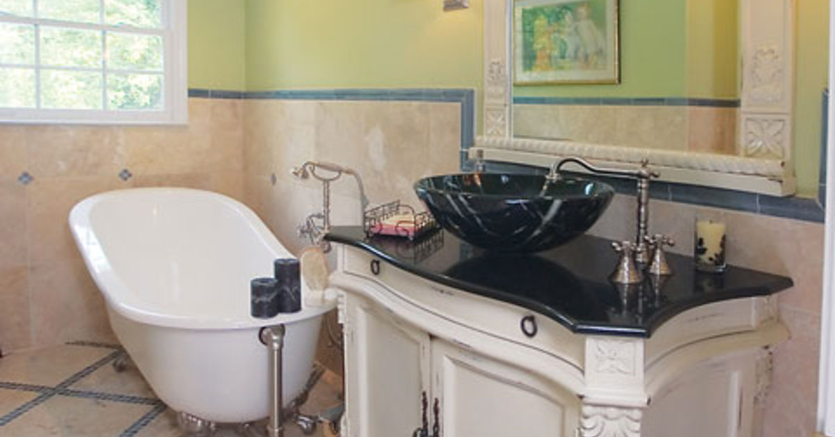 Floor To Ceiling Fabulous - Bathroom Tile Trend