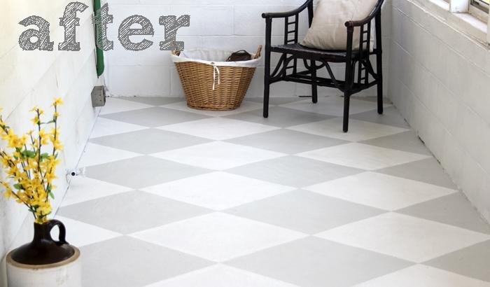 painted concrete floor, concrete masonry, flooring