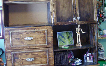 make your own mule chest or long chest topper, diy, how to, painted furniture, woodworking projects, When I installed the shelves in the cabinets I decided to use brass adjustable brackets so that I could later raise or lower shelves and only have to drill additional holes as my needs changed