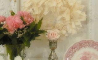 diy coffee filter wreath, crafts, seasonal holiday decor, wreaths