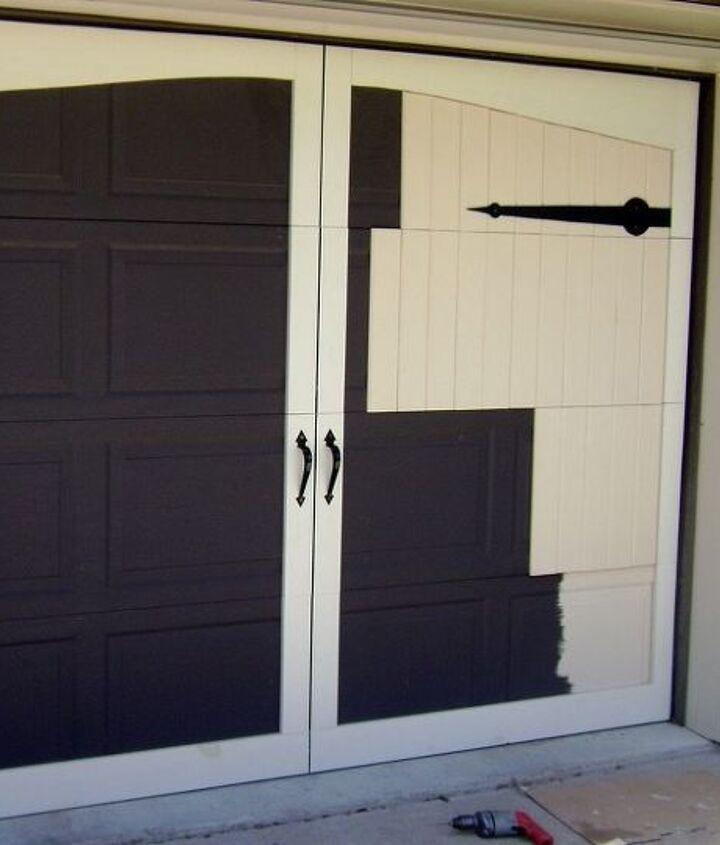 One door in the process of being redone.