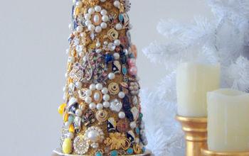 family jewelry christmas tree, christmas decorations, crafts, repurposing upcycling, seasonal holiday decor, What a beautiful keepsake that I will truly treasure