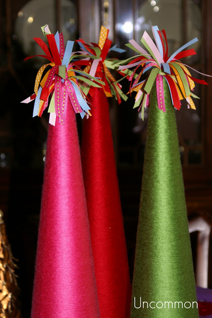 diy christmas tabletop tree inspiration, christmas decorations, crafts, seasonal holiday decor