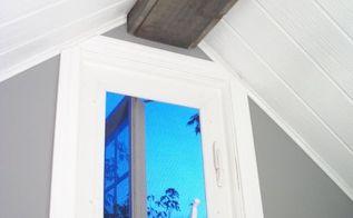 how to build a box beam aka fake ceiling beam, wall decor