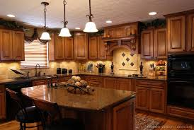 tuscan decor inspirations, home decor, kitchen design, kitchen island, I love this kitchen The window over the sink The island and the lighting used