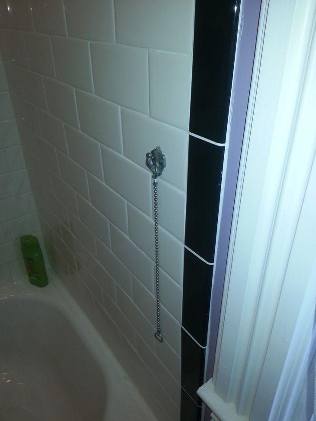 Vintage Tie Back: Installing Bath Hardware in Tile   Hometalk