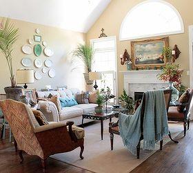 Adding Aqua, Home Decor, Painted Furniture, This Is My Former Living Room In