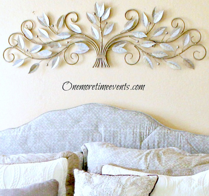 Refinishing Metal Wall Art Chalk Paint Crafts Home Decor Painting Using