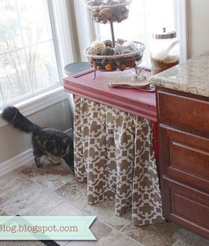 DIY kitty litter hide-a-way!