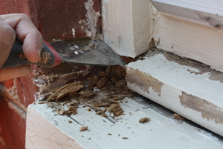 How To Repair A Rotten Window Sill Hometalk