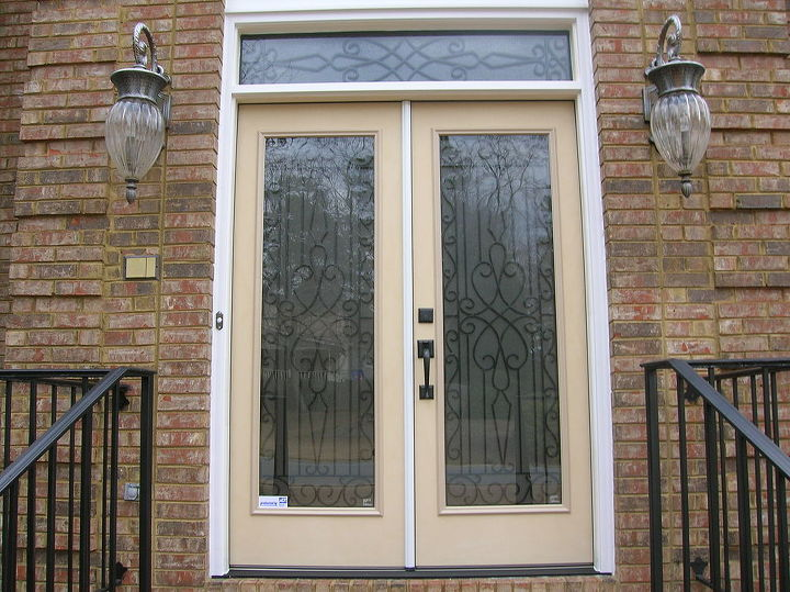 Transformed Single Door Twin Sidelights And Transom To